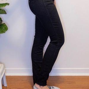 Guess Curve X black skinny jeans